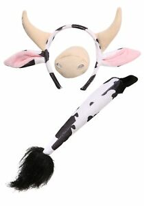 Cow Ears and Tail Set