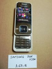 TELEPHONE PORTABLE FACTICE à collectionner dummy phone N°A63B : SAMSUNG SGH F250