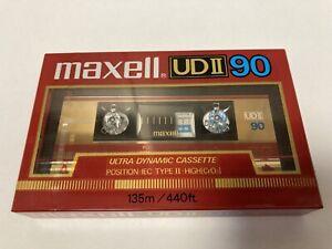 Maxell UD II 90, 1985-86, Type II, Kassette, Tape, Cassette, NOS