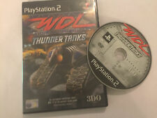 BOXED PAL PLAYSTATION 2 PS2 GAME WDL WORLD DESTRUCTION LEAGUE THUNDER TANKS