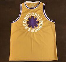 Rare Bravado Red Hot Chili Peppers LA Basketball Jersey