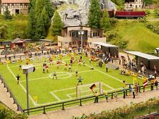 H0 Fußballplatz mit Vereinsheim micro-Sound Tribüne Noch 66830