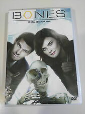 BONES TEMPORADA 6 SEXTA - 6 DVD ESPAÑOL ENGLISH + EXTRAS