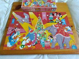 puzzle Disney 200 Schmid Noël au cirque complet rare pour collectionneur TBEG