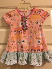 Matilda Jane Make Believe Puppeteer Tunic Top Girls Size 4