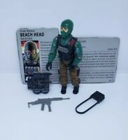 Beechhead Gi Joe Vintage Hasbro Action Figure Complete Great CONDITION