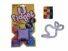3 Fidget Toy Tangle Jr Metallic Toysmith Flexiblox UFidget ADHD AUTISM SPED