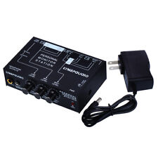 3 Channel Personal Monitor Station Audio Amplifier Headphone Mixer Stage Monitor
