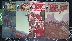 Shaolin Cowboy Vol. 2 #1-4 Complete Set Dark Horse Comics 2013 Geof Darrow