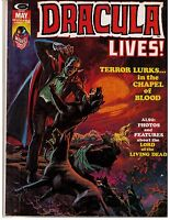 Dracula Lives # 6 (1974) F Curtis Magazine Marvel