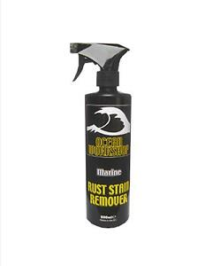 Rust Stain Remover Cleaner Boat Yacht Fibreglass 500ml
