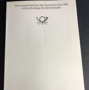 ODZ & ENDZ 5 USED GOOD GERMANY ERSTTAGS-SONDERSTEMPEIM 1987 5-9 of 31 1623