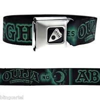 Ouija Board Planchette Green And Black Licensed Seat Belt Seatbelt Buckle Down