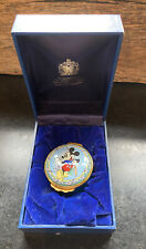 Mickey Mouse By Halcyon Days Enamels - New in the box, Fishing 1996