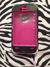 Zebra Print/Pink Iphone 4S Case