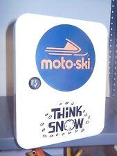 VINTAGE MOTOSKI SNOWMOBILE 1960S ERA DEALERSHIP SERVICE COUNTER 48 PLACE KEYBOX