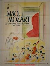 DE MAO A MOZART Affiche Cinéma / Movie Poster ISAAC STERN en CHINE MURRAY LERNER