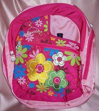 NEW ~ Pink Magic Flower Kiddie Bag Back Pack Drink Bottle ~ Little Beetle ~ GIRL