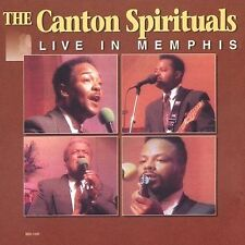 The Live in Memphis, Vol. 1 by The Canton Spirituals (CD, 1993, Blackberry,...