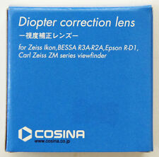 GENUINE Cosina Diopter Correction Lens -2 for Zeiss Ikon, BESSA R3A-R2A, R-D1
