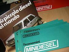 INNOCENTI  minidiesel (brochure-prospekt-depliant ) anni '80