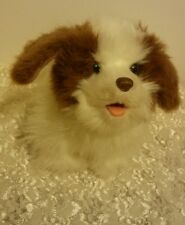 Furreal Friends King Charles Spaniel White and Tan 2010 VGUC !