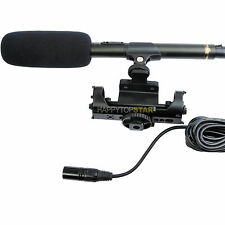 Q9 Professional Microphone for Canon EOS 5D Mark III 4 7D 6D 70D 80D 750D 760D