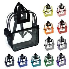 NuFazes Transparent Clear Backpack in Multiple Colors