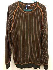 H&M Divided  Black Stripe  long-sleeve Top Size L