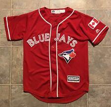 Toronto Blue Jays Majestic red alternate jersey Youth Small