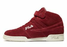 Authentic Brand New Fila F13 High Top Trainers (UK 9 EUR 43.5) Red/White 2018