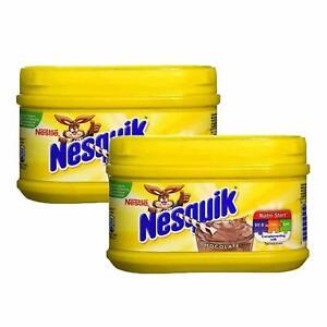 Nestle Nesquik Chocolate Flavour Milkshake Mix, (300 gm x 2 pack) Free shipping