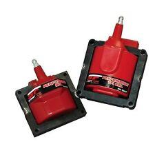 MSD 5526 Ignition Coil Street Fire E-Core Square Epoxy Red 48000 V GM