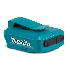Makita 2xUSB Ports Cordless Battery Charger Adaptor Baretool for Mobile Devices