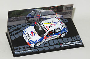 1/43 Peugeot 306 Maxi Esso Ultron  Tour de Corse Rally 1998  F.Delecour