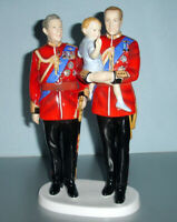 "Royal Doulton Future Kings Figurine 5884 Prince Charles William George 10"" New"