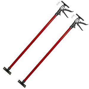 Drywall plasterboard builders easy props ceiling adjustable 115-290cm red new