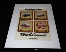 1990 Florida Toyota Corolla 4Runner Framed 11x14 ORIGINAL Advertisement