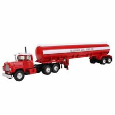 60-0289 1st First Gear Mack R Model w/42' Water Tank Madison 1:64 Scale Diecast