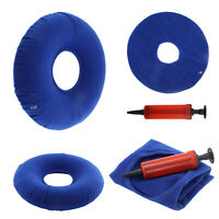 Inflatable Round Cushion Rubber Ring Donut Seat Medical Pressure Sores Relief