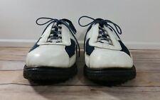 "Allen Edmonds Sz 13 ""Jack Nicklaus"" White Spikeless Sole Golf Shoes Retail $225"