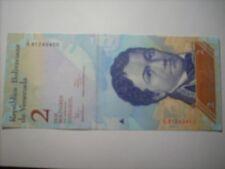 Venezuela, 2 Bolivares type Francisco De Miranda 2012