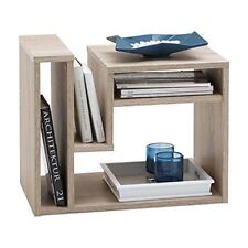 Fmd 648-001 Ei Fritz table D'appoint avec Multi casiers de Rangement bois Chêne
