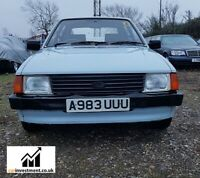 Ford Escort, 1.3L, Mk 3, Mark 3, 1984, very sought after, give away price