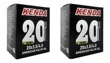 Coppia Camera D'aria bici Fat Bike 20x3.50/4.0 Valvola America 48mm KENDA