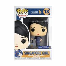 FUNKO POP AD ICON SINGAPORE GIRL AIRLINES FIGURE #18 KRISSHOP EXCLUSIVE NEW