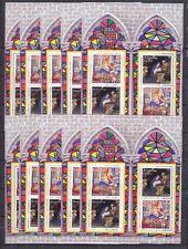 10 x Bund BRD 2001 Block 56 I ** postfrisch Weihnachten Spanien Bl. 102 günstig