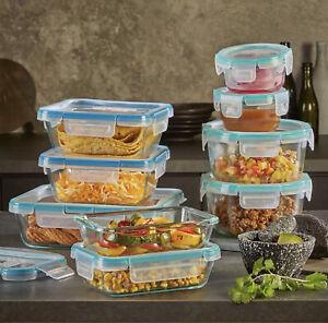 Snapware Pyrex Glass 18-piece Set Food Storage Airtight Leak-Proof USA Made NEW!
