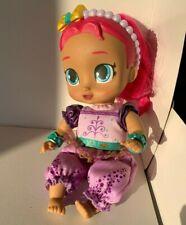 "Shimmer and Shine Girls Dolls Genie Babies Baby 10.5"" Glittery Eyes Nickelodeon"