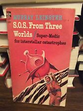 S. O. S. From Three Worlds by Murray Leinster, PB